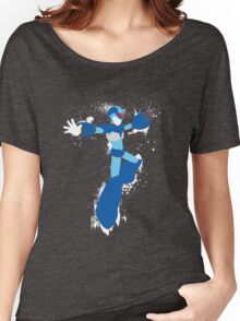 Mega Man X Splattery Any Color Shirt or Hoodie Women's Relaxed Fit T-Shirt