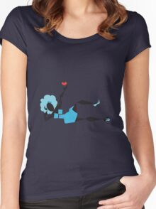 Heart Filled Diva ~(C) 2011 Women's Fitted Scoop T-Shirt