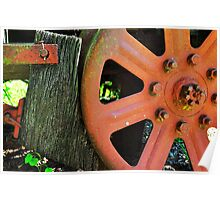 Wooden Brake Poster