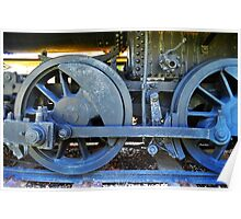 Train Wheels Poster