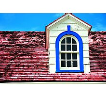 Roof with Dormer Photographic Print