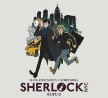Sherlock NYC - SCREENING - Day (Purple Logo) by SherlockNYC