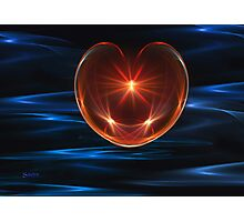Valentines Heart Photographic Print
