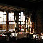 Winter Breakfast - Ye Olde White Hart Hotel by BlueMoonRose