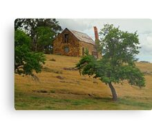 Stone Cottage Metal Print
