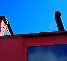 Red Caboose by joevoz