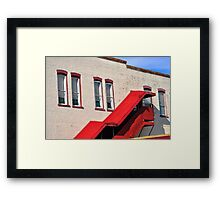 Stair Way Framed Print