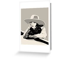 Colleen Moore Greeting Card