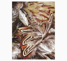 pheasant feathers 1 One Piece - Short Sleeve