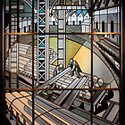 Art Deco Stained Glass by Anthony Ogle
