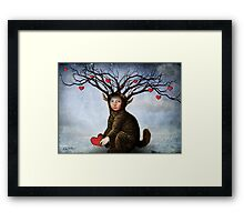 Give me your love Framed Print