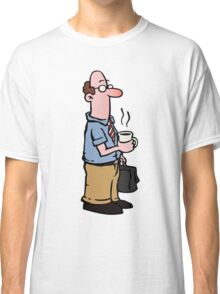 Boss with cup of coffee Classic T-Shirt
