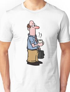 Boss with cup of coffee Unisex T-Shirt