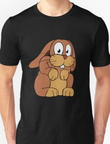 Cute cartoon rabbit with big eyes T-Shirt