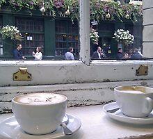 Monmouth Coffee Bar by Richard Harris