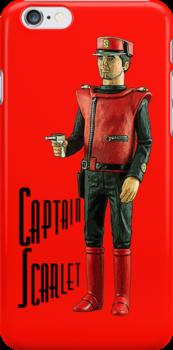 Captain Scarlet by Kezzarama