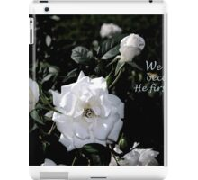 Wedding Love iPad Case/Skin