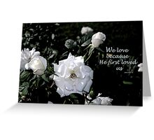 Wedding Love Greeting Card
