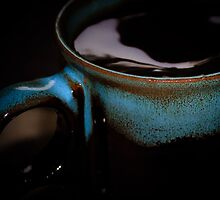 Up close and personal with teh coffee  by Gservo