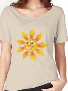 Cute smiling sun Women's Relaxed Fit T-Shirt
