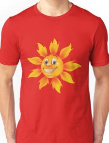 Cute smiling sun Unisex T-Shirt