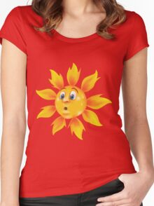 Sweating sun Women's Fitted Scoop T-Shirt