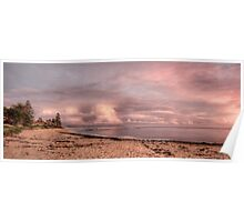 By the dawn light - Long Reef Basin Poster