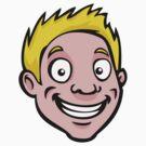 Cute cartoon guy by Colin Cramm