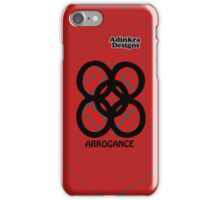 5-iphone4-Adinkra-Series-arrogance iPhone Case/Skin