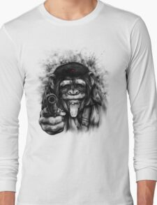 CHIMP GUEVARA Long Sleeve T-Shirt