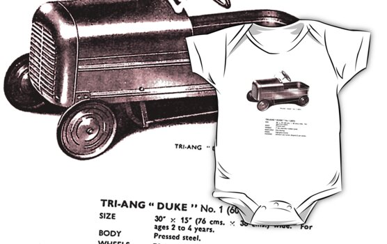 Triang Duke.  Classic Pedal Car. by Dan Smith