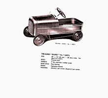 Triang Duke.  Classic Pedal Car. Unisex T-Shirt