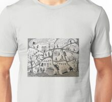 Epsom illustrated map Unisex T-Shirt