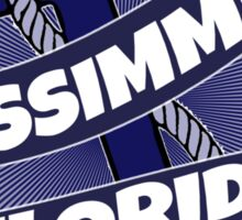 Kissimmee Florida anchor swirl Sticker