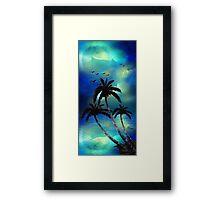 Tropical Night Framed Print