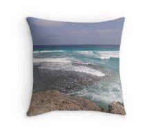 Summers afternoon Pennington Bay kangaroo Island  Throw Pillow