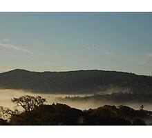 Morning Fog Layer Photographic Print