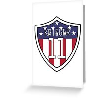 Ali Krieger #11 | USWNT Greeting Card