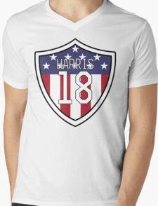Ashlyn Harris #18 | USWNT Mens V-Neck T-Shirt