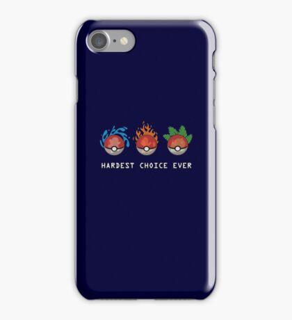 Hard Choices iPhone Case/Skin