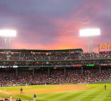 Red Sox Baseball game in Boston by Hiebl Photography