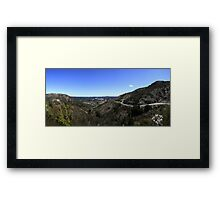 Queenstown, Tasmania Panorama Framed Print