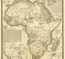 Vintage Map of Africa (1828) by BravuraMedia