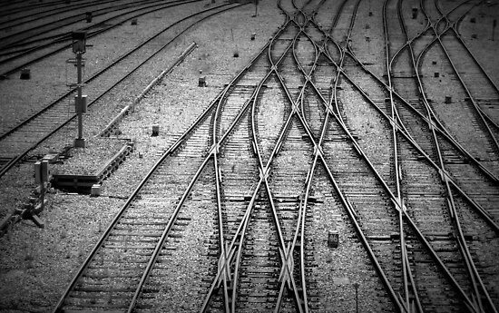 Crossed Lines by Ben Loveday