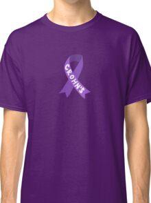 Crohn's Awareness Ribbon Classic T-Shirt