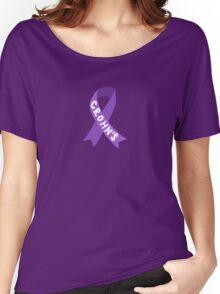 Crohn's Awareness Ribbon Women's Relaxed Fit T-Shirt