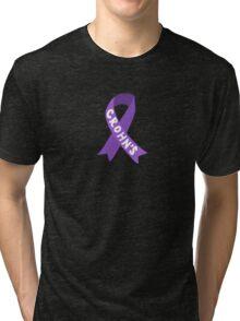Crohn's Awareness Ribbon Tri-blend T-Shirt