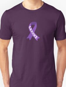 Crohn's Awareness Ribbon Unisex T-Shirt