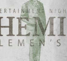 Bohemian Gentlemen's Club Sticker