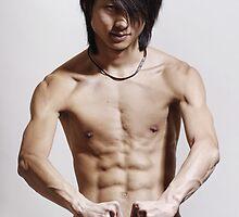 Asian guy by Albert Smirnov